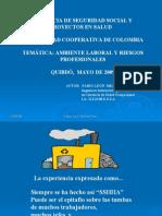 Ambiente Laboral y Riesgos Profesionales UCC