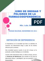 Farmacodependencia Clase Del Miercoles 30 de Noviembre Lcda. Dilia Romero
