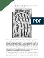 La Duda de Santo Tomas Relieve Del Claustro Bajo Del Monasterio de Santo Domingo de Silos S XII