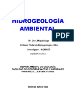 Hidrogeologia ambiental en Bs As