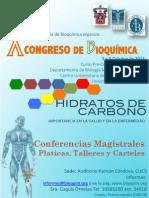 Cartel Congreso de Bioquimica