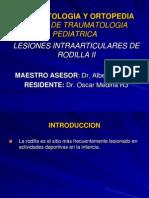 LesionesIntraArticularesdeRodillaII