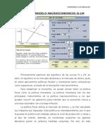 Practica de Modelos Macroeconomicos is-lm