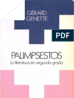 palimpsestos la literatura en segundo grado genette