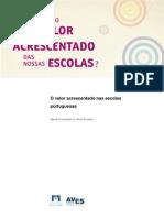 o Valor Acrescentado Nas Escolas Portuguesas