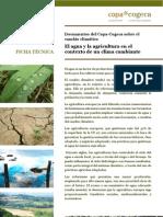 El Agua Agricultura