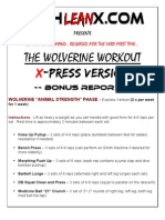 Wolverine Work Out