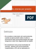 Prevencion de ulceras por presiòn clase