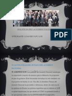 33 politicas del estado nacional del peru