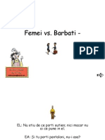 Femeie vs Barbat