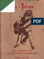 Jiu-Jitsu von Hans Reuter  ( zweite -  2. Buch / Second Book )