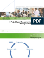 Il Project Cycle Management :A Technical GuideThe Logical Framework Approach