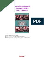 137511974 Legendele Olimpului Alexandru Mitru Vol 1