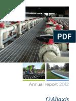 Aliaxis Annual Report 2012