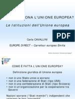 Europrogettazione Fonti e Istituzioni