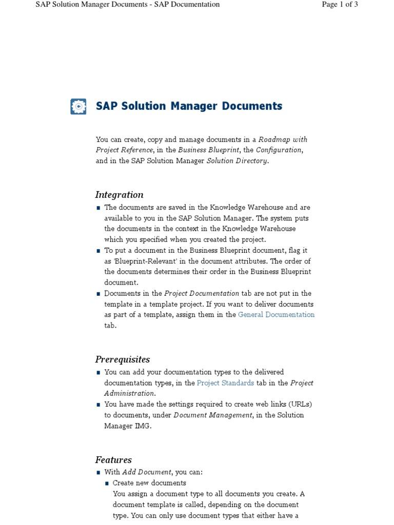 Solman defining and maintaining documentation types hyperlink solman defining and maintaining documentation types hyperlink information technology management malvernweather Choice Image