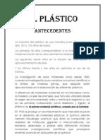 El plástico