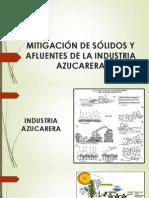 MITIGACIÓN DE SÓLIDOS Y AFLUENTES DE LA INDUSTRIA