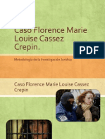 Caso Florence Marie Louise Cassez Crepin..