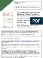 Critical Theorists