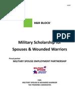 2013 H&R Block Scholarship