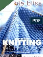 (Knitting) Debbie Bliss - Knitting Workbook