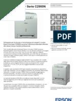 Epson AcuLaser C2900N Brochure