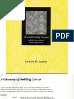 Charted Knitting Designs - Barbara Walker