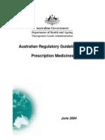 Argpmap15Australian Regulatory Guidelines For