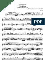 Mozart Piano Sonata No11 Turkish Rondo