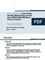 Cisco IT Case Study MDS ERP RTP Print