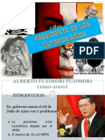 Fujimori MUY BUENO