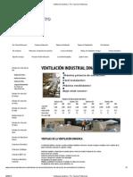 Ventilación dinámica - Pro Tecnica Profesional