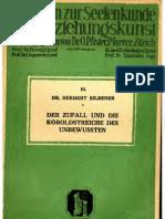 SILBERER Herbert_Der Zufall
