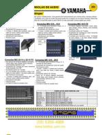 H- Audio Consolas, Fuentes y Microfonos