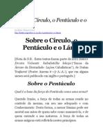 Sobre o Círculo, o Pentáculo e o Lámen