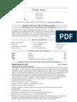 Admin Office Management CV Sample