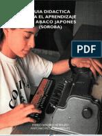 Guía didáctica para el aprendizaje del Ábaco japonés (Soroba)