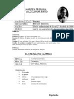 1 Abraham Valdelomar Pinto