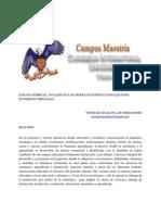 VersionEnsayo Sobre El Analisis d Los Modelos Instruccionales Para Entornos Virtuales