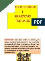 Modalidad Textual y Secuencias Textuales