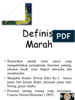 Definisi Marah