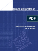 Cuaderno   1-Enseñanza y Promnoción de la Lectura