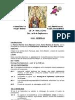 BASES Y REGLAMENTO DEL  CAMPEONATO RELÁMPAGO DE VOLEY Y FULBITO familiar.doc