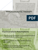 Psychoanalytic Therapy_Group 1