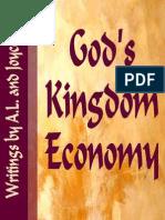 Gods Kingdom Economy