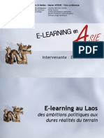 E-Learning Au Laos