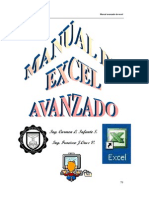 EXCEL Manual Avanzado