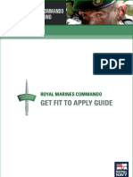 Royal Marine Commando training guide