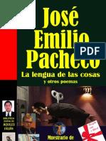 Pacheco Las Lenguas de Las Cosas y Otros Poemas